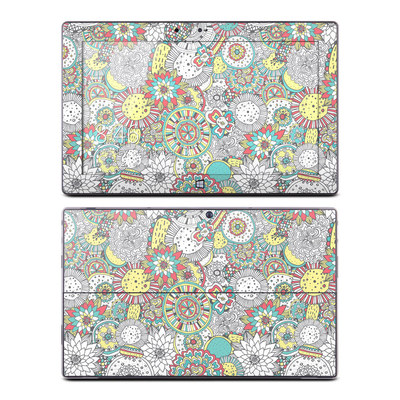 Microsoft Surface RT Skin - Faded Floral