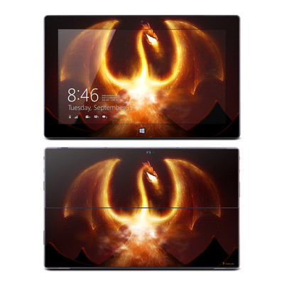 Microsoft Surface RT Skin - Fire Dragon
