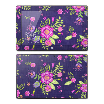 Microsoft Surface RT Skin - Folk Floral