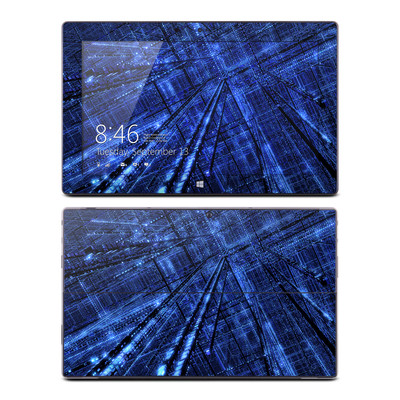 Microsoft Surface RT Skin - Grid