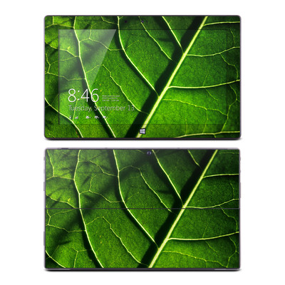 Microsoft Surface RT Skin - Green Leaf