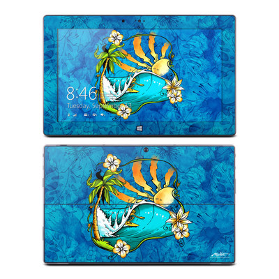Microsoft Surface RT Skin - Island Playground