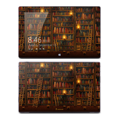 Microsoft Surface RT Skin - Library