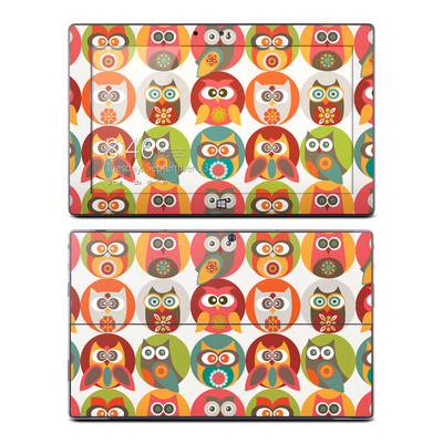 Microsoft Surface RT Skin - Owls Family