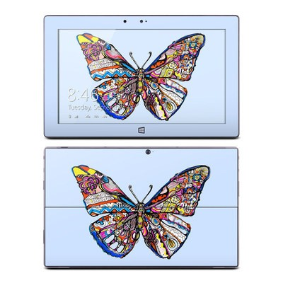 Microsoft Surface RT Skin - Pieced Butterfly