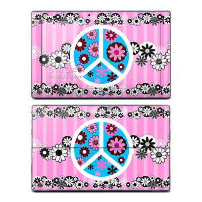Microsoft Surface RT Skin - Peace Flowers Pink