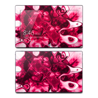 Microsoft Surface RT Skin - Pink Splatter
