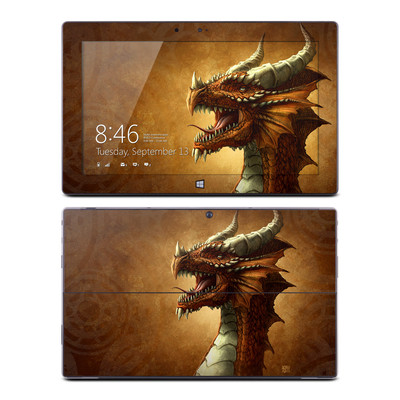 Microsoft Surface RT Skin - Red Dragon