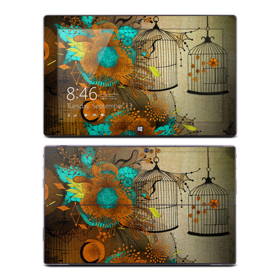 Microsoft Surface RT Skin - Rusty Lace