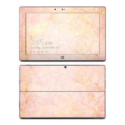 Microsoft Surface RT Skin - Rose Gold Marble