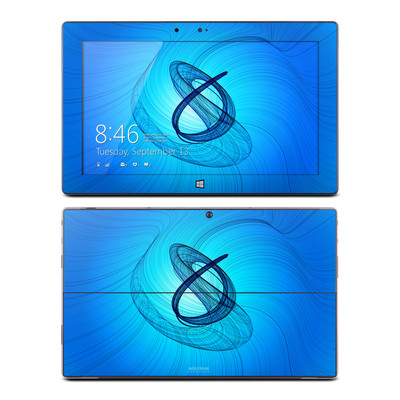 Microsoft Surface RT Skin - Rotating Swirls
