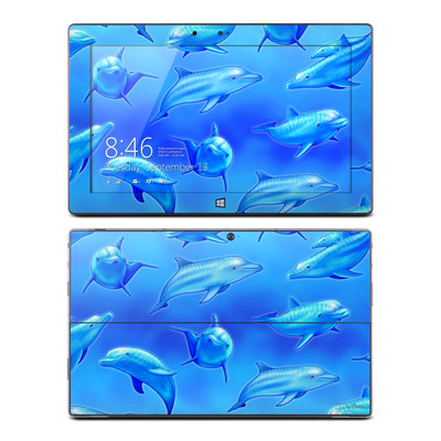 Microsoft Surface RT Skin - Swimming Dolphins