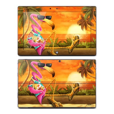 Microsoft Surface RT Skin - Sunset Flamingo