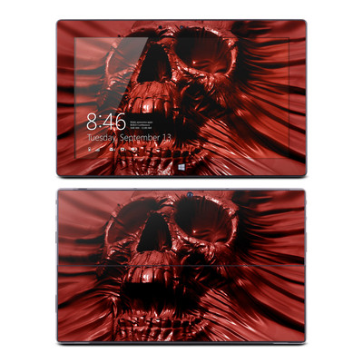 Microsoft Surface RT Skin - Skull Blood