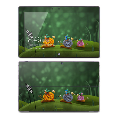Microsoft Surface RT Skin - Snail Race