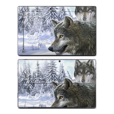 Microsoft Surface RT Skin - Snow Wolves