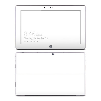Microsoft Surface RT Skin - Solid State White