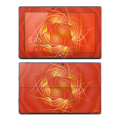 Microsoft Surface RT Skin - Spiral Stellations
