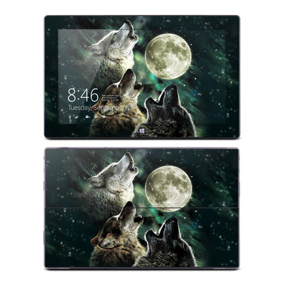 Microsoft Surface RT Skin - Three Wolf Moon