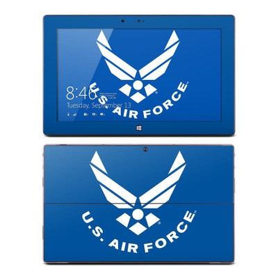 Microsoft Surface RT Skin - USAF Blue