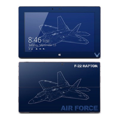 Microsoft Surface RT Skin - F-22 Raptor