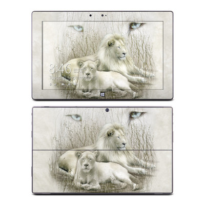 Microsoft Surface RT Skin - White Lion