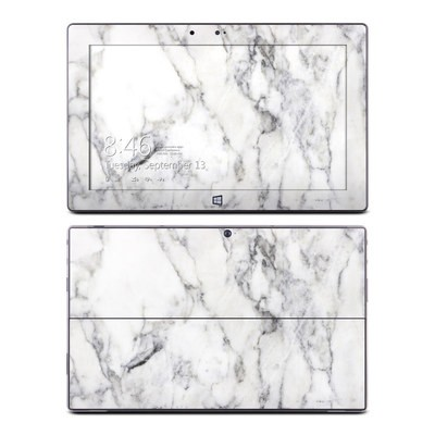 Microsoft Surface RT Skin - White Marble