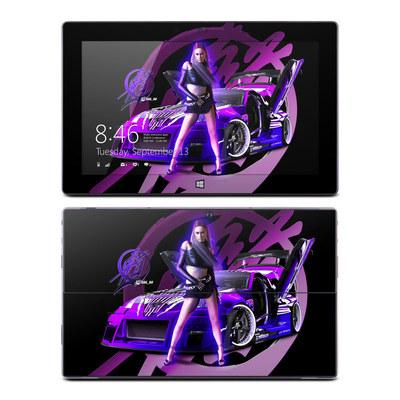 Microsoft Surface RT Skin - Z33 Purple
