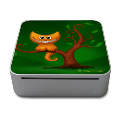 Mac Mini Skin - Cheshire Kitten