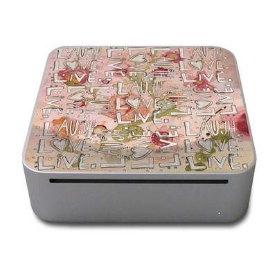Mac Mini Skin - Love Floral