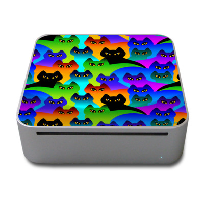 Mac Mini Skin - Rainbow Cats