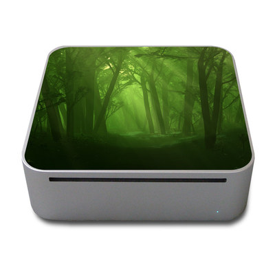 Mac Mini Skin - Spring Wood