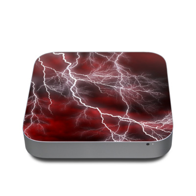 Mac Mini 2011 Skin - Apocalypse Red