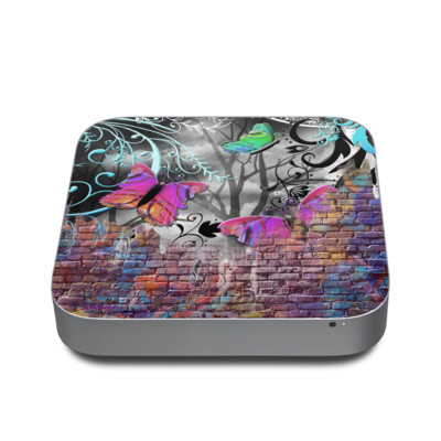 Mac Mini 2011 Skin - Butterfly Wall