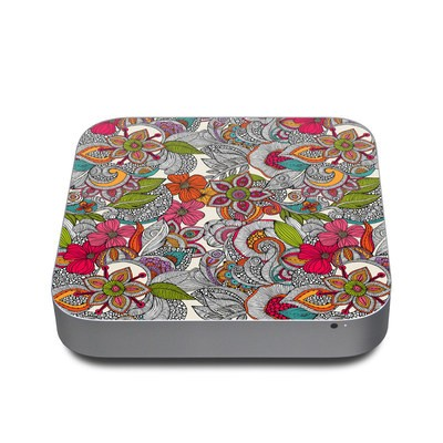 Mac Mini 2011 Skin - Doodles Color