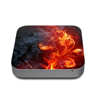 Mac Mini 2011 Skin - Flower Of Fire