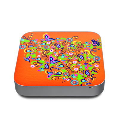 Mac Mini 2011 Skin - Orange Squirt