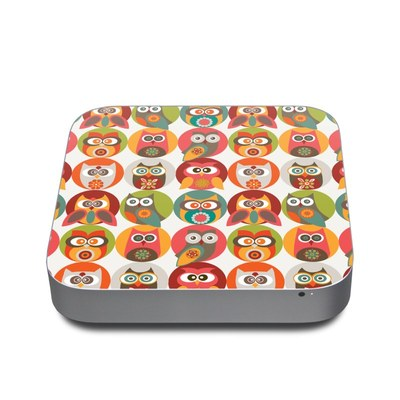 Mac Mini 2011 Skin - Owls Family