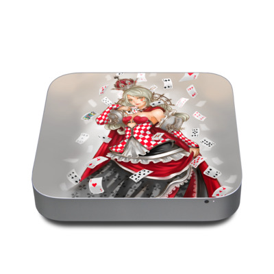 Mac Mini 2011 Skin - Queen Of Cards