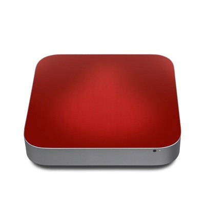 Mac Mini 2011 Skin - Red Burst