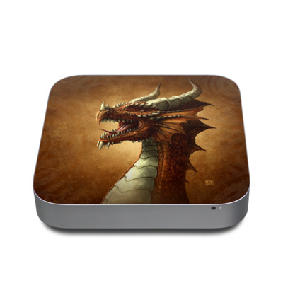 Mac Mini 2011 Skin - Red Dragon
