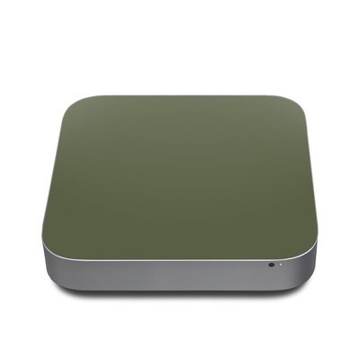 Mac Mini 2011 Skin - Solid State Olive Drab