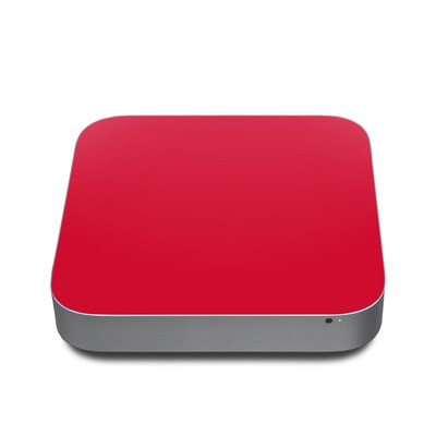 Mac Mini 2011 Skin - Solid State Red