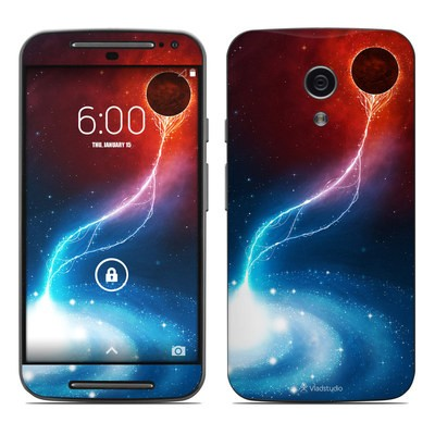 Motorola Moto G Second Gen Skin - Black Hole