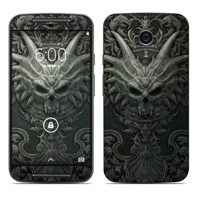 Motorola Moto G Second Gen Skin - Black Book