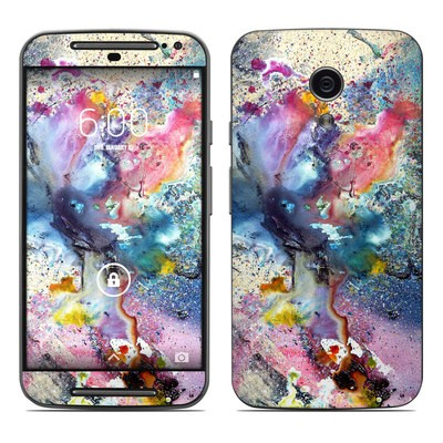 Motorola Moto G Second Gen Skin - Cosmic Flower