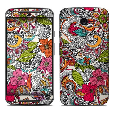 Motorola Moto G Second Gen Skin - Doodles Color