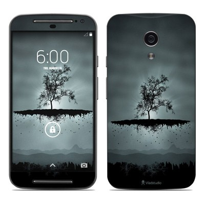 Motorola Moto G Second Gen Skin - Flying Tree Black