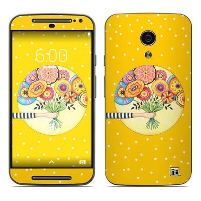 Motorola Moto G Second Gen Skin - Giving