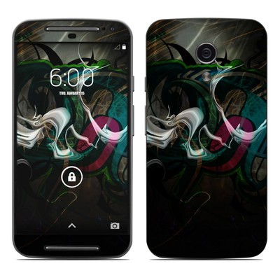 Motorola Moto G Second Gen Skin - Graffstract